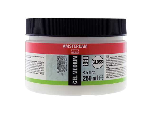 Gel Medium acrylique brillant 250 ml Amsterdam Talens
