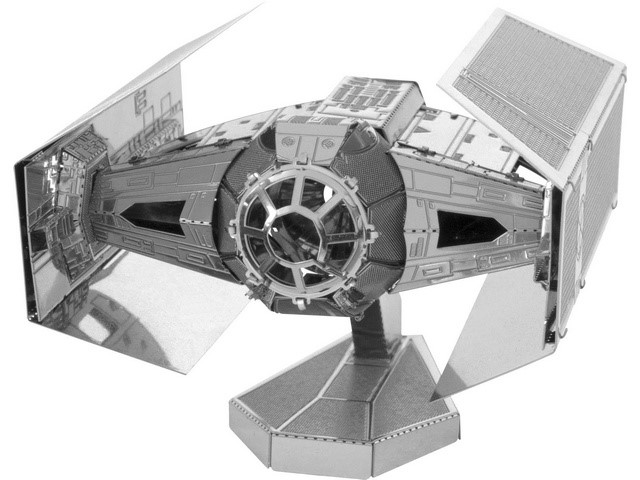 Maquette 3D Metal Star Wars Dark Vador Tie Fighter