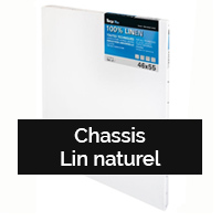 Chassis lin naturel