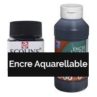 Encre Aquarellable