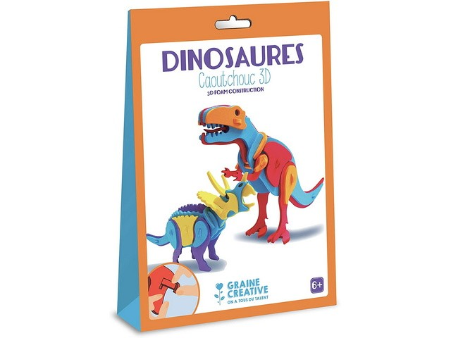 Kit de Construction 3D Dinosaure