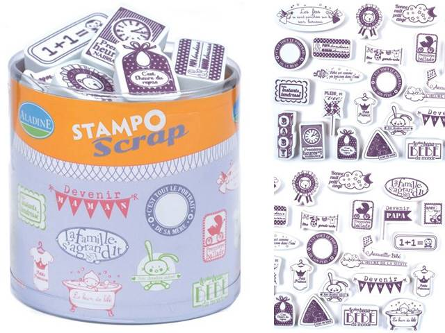 Stampo Scrap Naissance