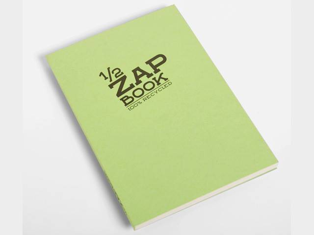 1/2 Zap Book Esquisse Broché A5 80G 80P