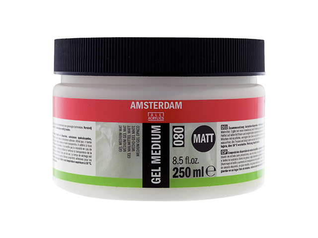 Gel Médium acrylique mat 250 ml Amsterdam Talens