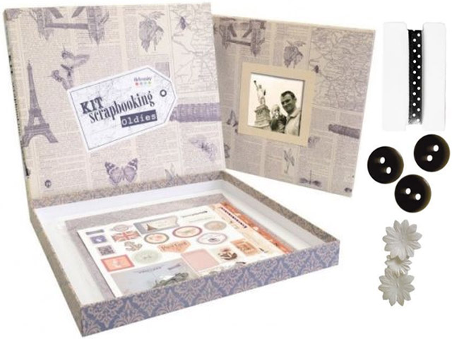 Kit Album Oldies Scrapbooking Artemio