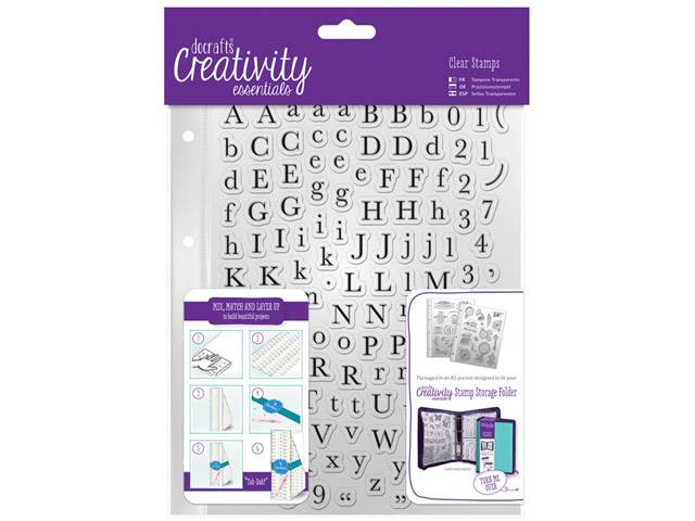 TAMPONS CLEAR ALPHABET TRADITION A5 129 ELEMENTS