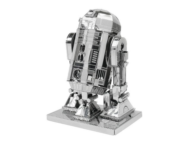 Maquette 3D Metal Star Wars R2-D2