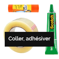 COLLER, ADHESIVER