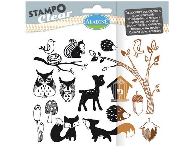 Stampo Clear Foret