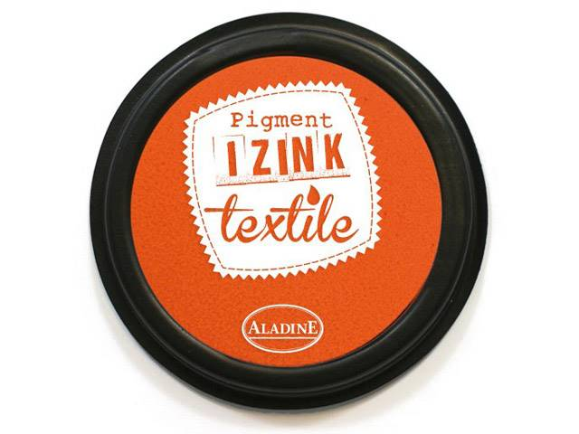 ENCREUR IZINK TEXTILE ORANGE