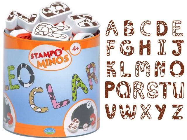 Stampo Minos Alphabets Majuscule