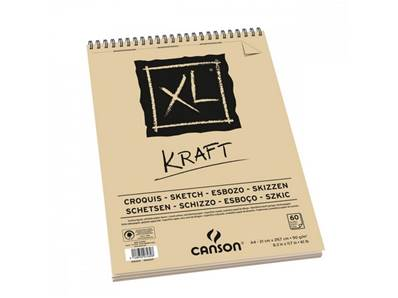 Album XL Kraft A4 90 gr 60 feuilles dont 10 offertes