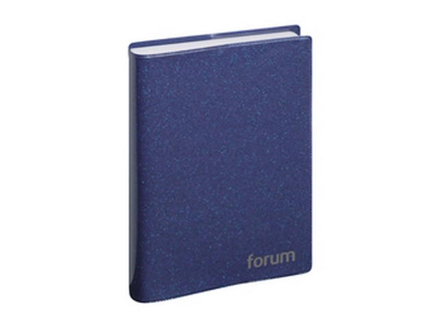 Agenda journalier Forum 2019-2020 17x12 cm (bleu)