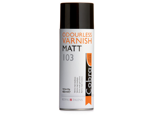 Vernis mat Cobra 400 ml spray