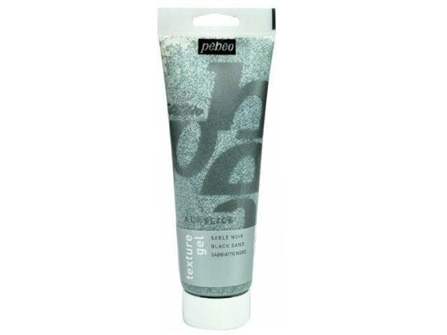 Gel de texture sable noir 250ml Pébéo