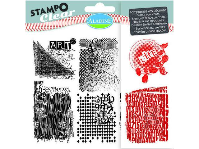 STAMPO CLEAR TEXTURES
