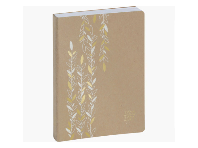 Agenda Forum Kraft 12 x 17 cm Journalier