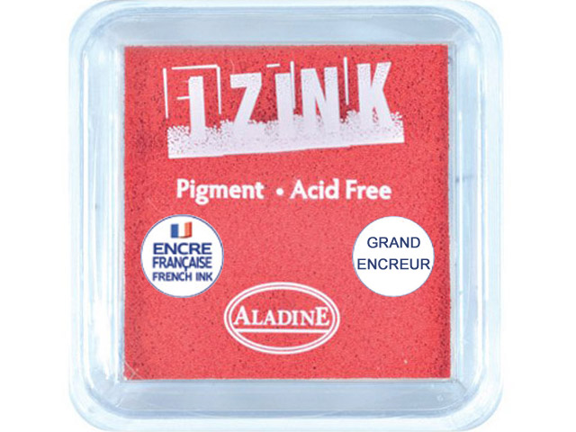 GRAND ENCREUR IZINK PIGMENT RED