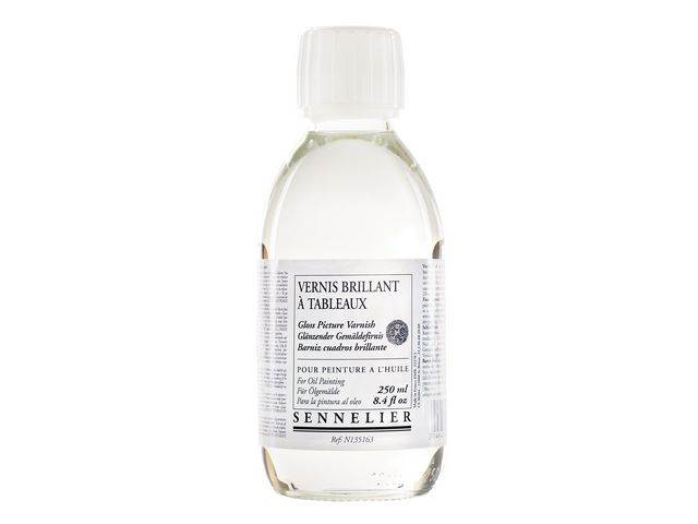 Vernis Brillant à tableaux Sennelier Flacon 250ml