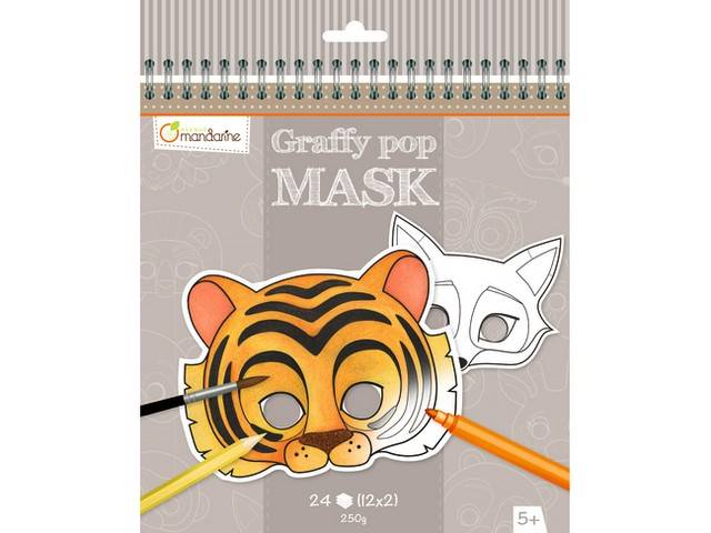 Graffy Pop Mask - Animaux