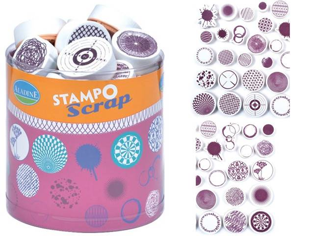 Stampo Scrap Ronds Taches