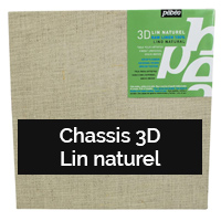 Chassis 3D lin naturel