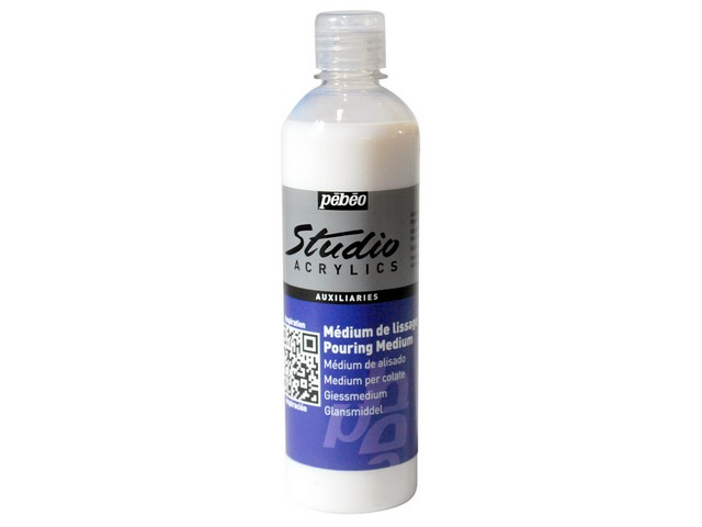 Medium de lissage Pouring Pebeo Studio Acrylics 500 ml