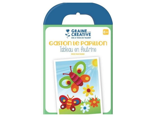 Kit Feutrine Papillon