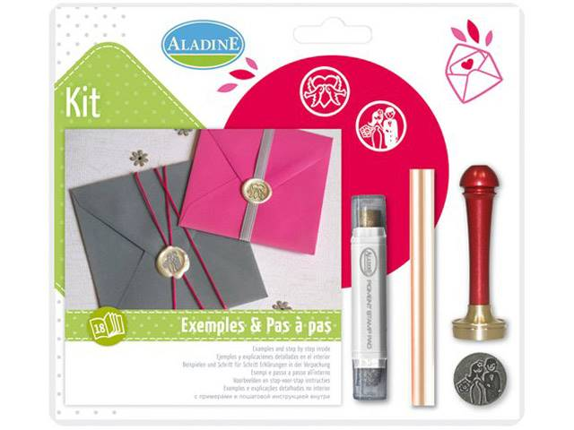 Kit Cire Mariage Couple Colombe