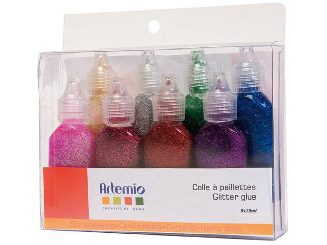 Colle Paillette 8X20 ml