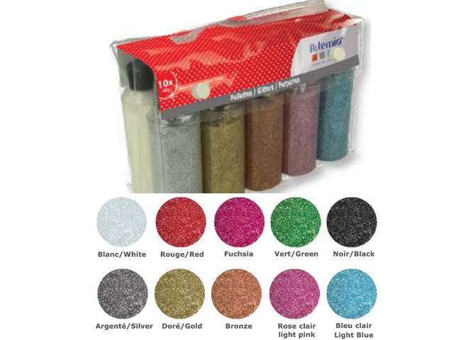 Set Paillettes 10X40G