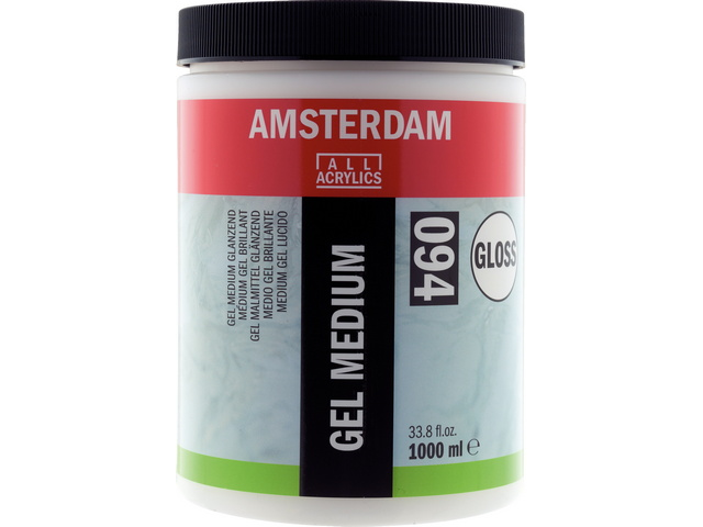 Gel Médium acryl brillant 1000 ml Talens