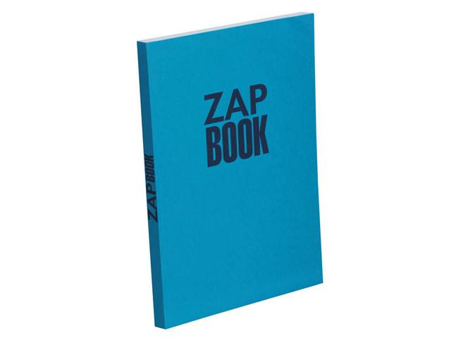 Zap Book Esquisse Broché 80G 21X29,7 Uni 320 Pages