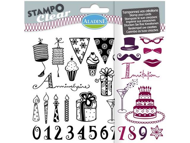 Stampo Clear Anniversaire Adulte