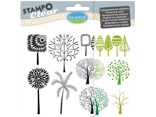 Stampo Clear Arbres