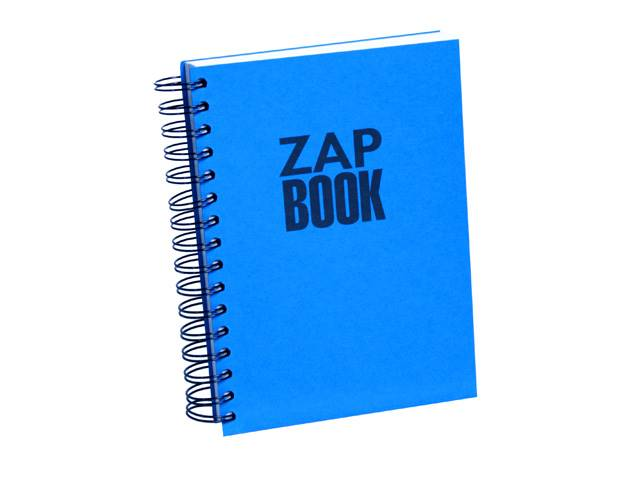 Zap Book Esquisse Spiralé 14,8X21 Uni 320 Pages