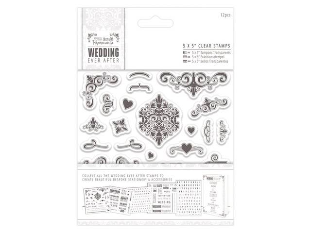 TAMPONS CLEAR WEDDING FIORITURES 29 ELEMENTS