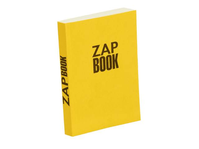 Zap book esquisse broché 80g 10,5x14,8 uni 320 pages