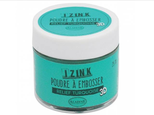 Poudre à Embosser 25 ml Turquoise