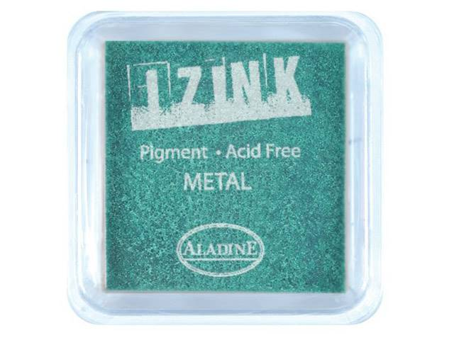ENCREUR IZINK METAL GREEN