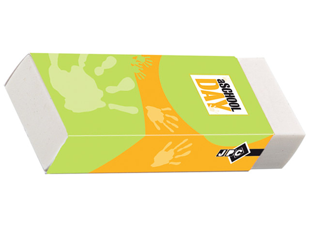 GRANDE GOMME PLASTIQUE RECTANGLE 60x20x10mm