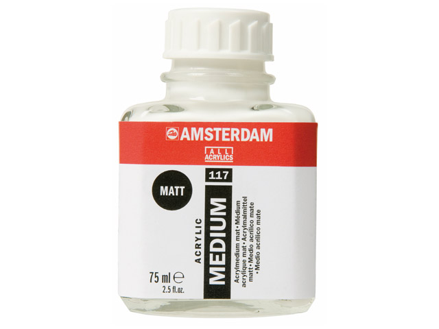 Médium acryl mat Talens 75ml