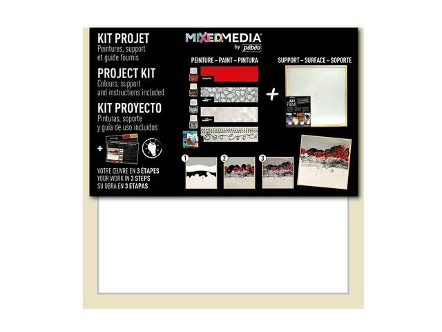 Atelier Mixed Media Kit Project Art Panel + Miroir