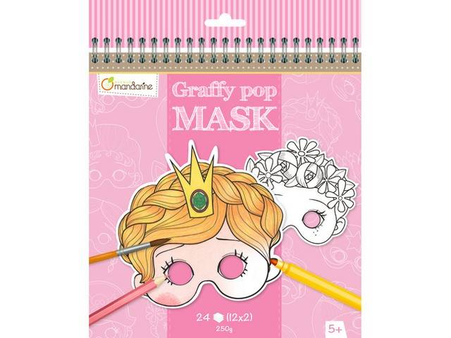 Graffy Pop Mask - Fille