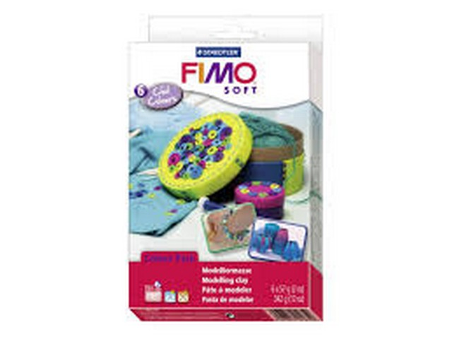 Coffret FIMO Soft 6 pains/couleurs